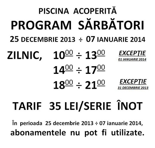 piscina_program_sarbatori