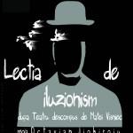 Afis Lectia de Iluzionism - pt turneu